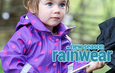 Fashion and function: new season children's rainwear from top quality Scandinavian brands