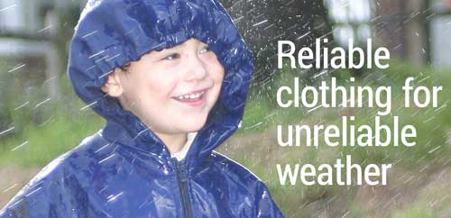 The finest Scandinavian children's rainwear